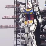 Watch Japan's Life-size <em>Gundam</em> Robot Walks And Kneels Down