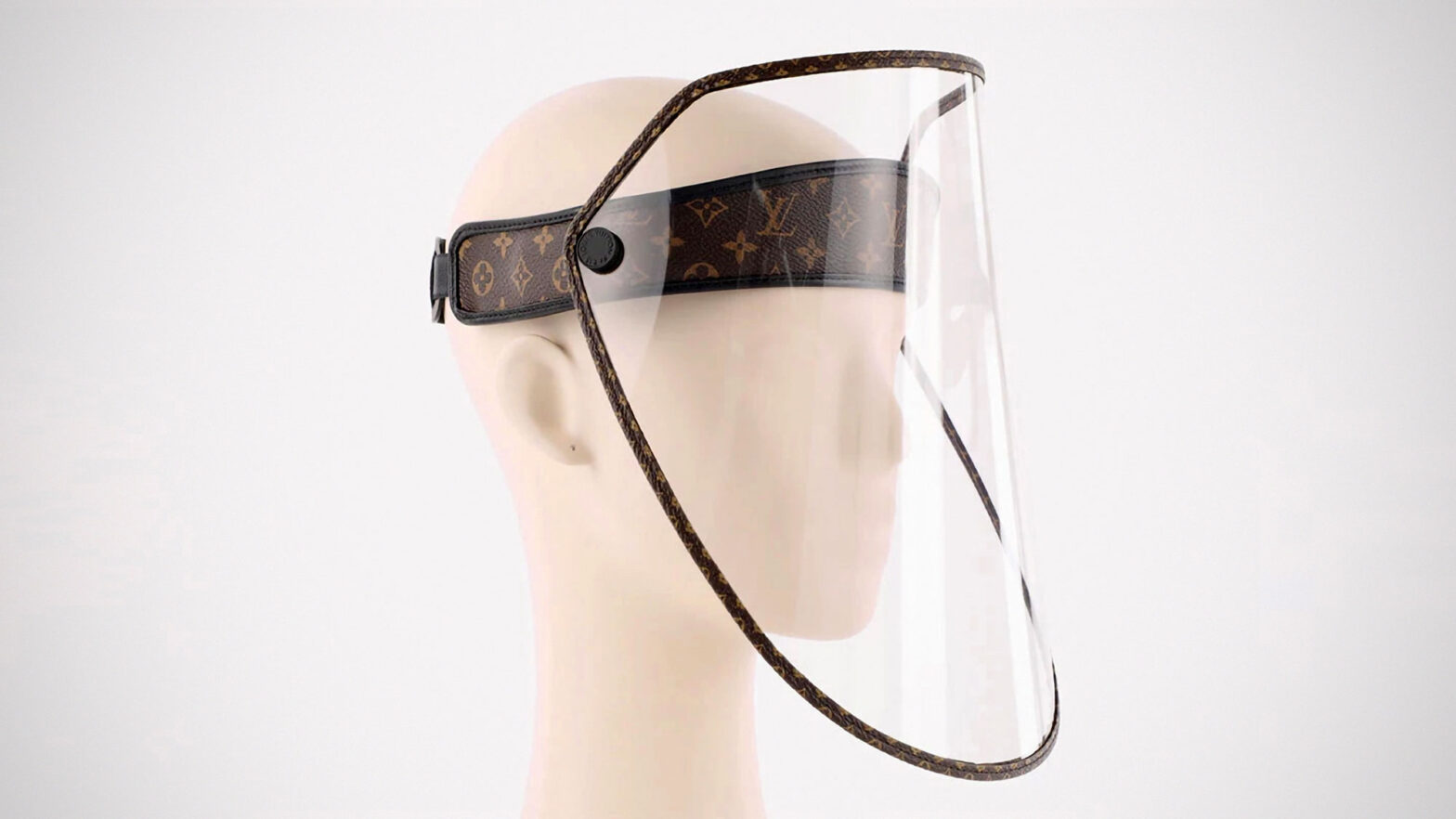 Louis Vuitton Monogram-print Face Shield