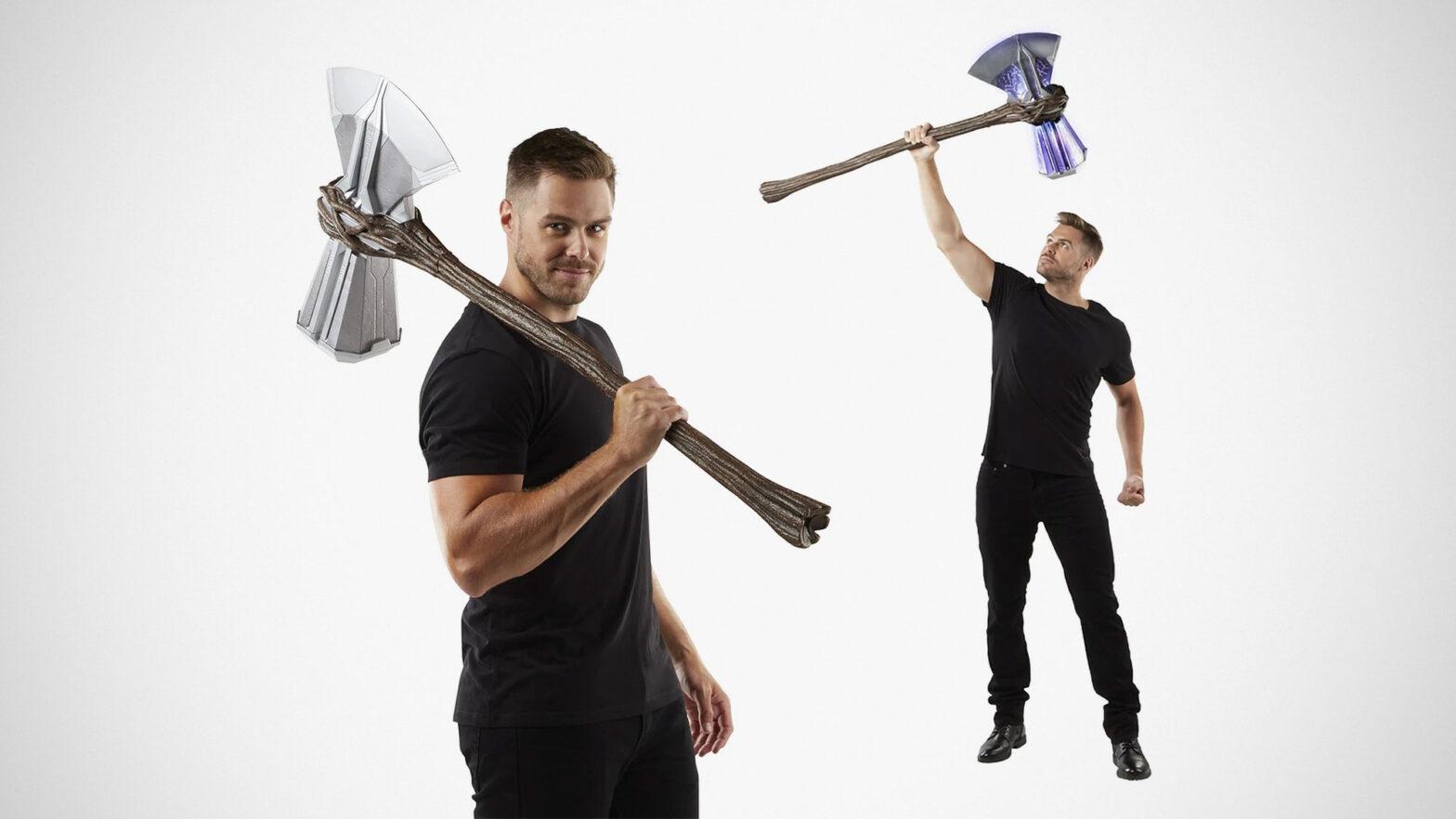 Marvel's Avengers: Thor Stormbreaker Electronic Axe