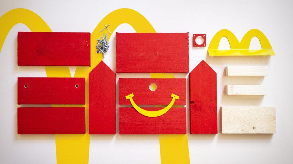 McDonald's Happy Meal Bird Houses in Finland
