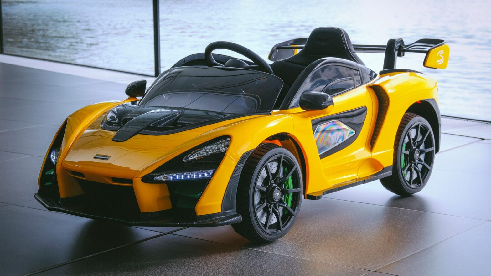 McLaren Senna Ride-On Toy for Kids