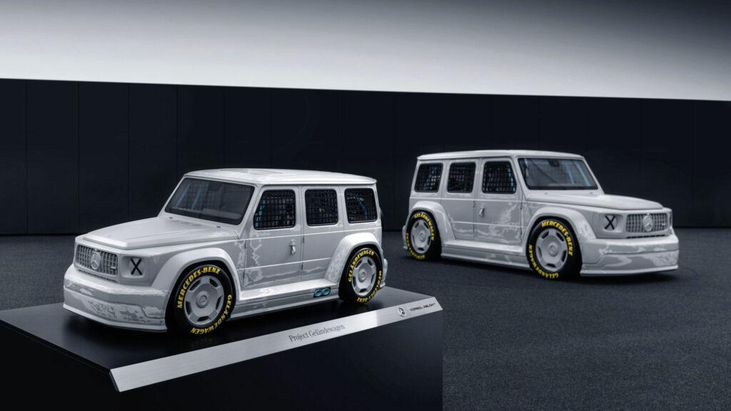Mercedes-Benz x Virgil Abloh Project Geländewagen Maquette