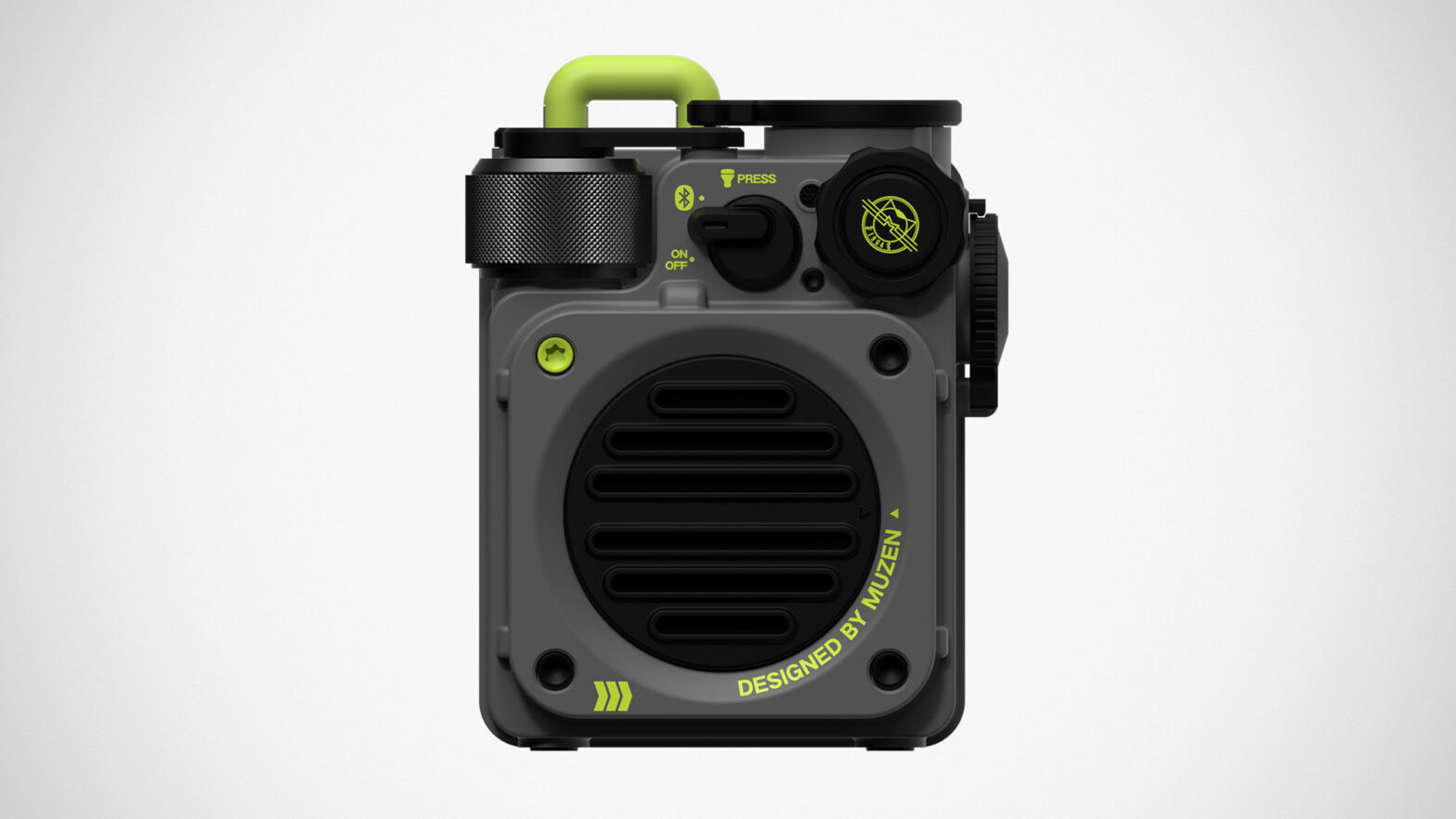 Muzen Wild Mini Rugged Bluetooth Speaker