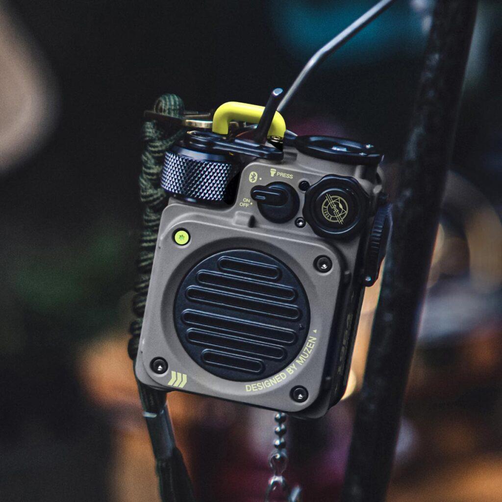 Muzen Wild Mini Rugged Bluetooth Speaker