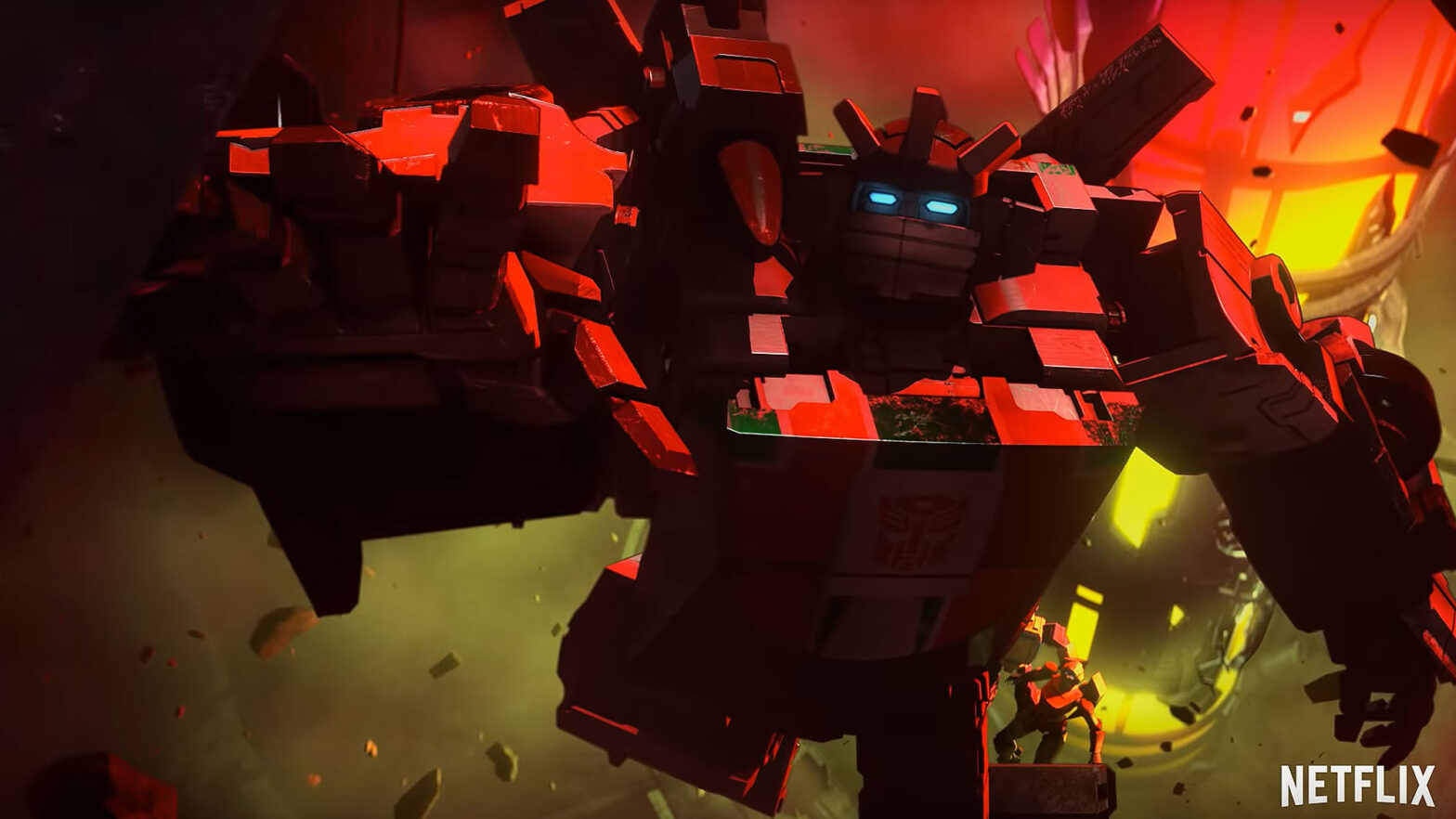 Netflix Transformers War For Cybertron Trilogy Earthrise Trailer