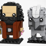 New LEGO Brickheadz Sets: Hagrid & Buckbeak, Monkey King And Frankenstein