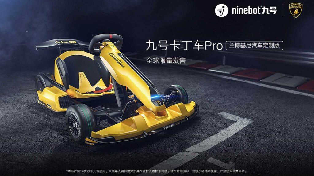 Ninebot Gokart PRO Go-Kart Lamborghini Edition