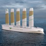 This Futuristic Cargo Vessel Is Powered By Telescopic Steel And Composite Sails