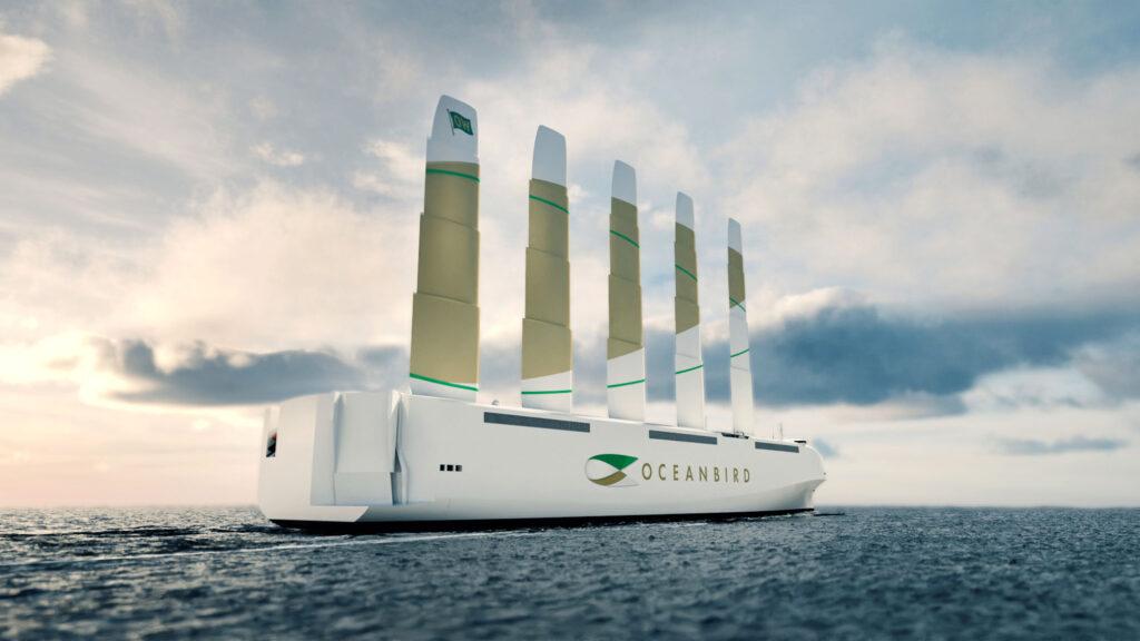 Oceanbird Cargo Vessel by Wallenius Marine