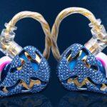 QDC Blue Dragon Is A Luxury Jewelry In-Ear Earphones That Commands A Hefty US$13,800