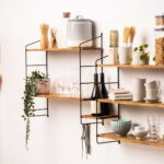 This Minimalist Shelving Unit Has Shelves That Are Made Entirely Of 4,276 Chopsticks