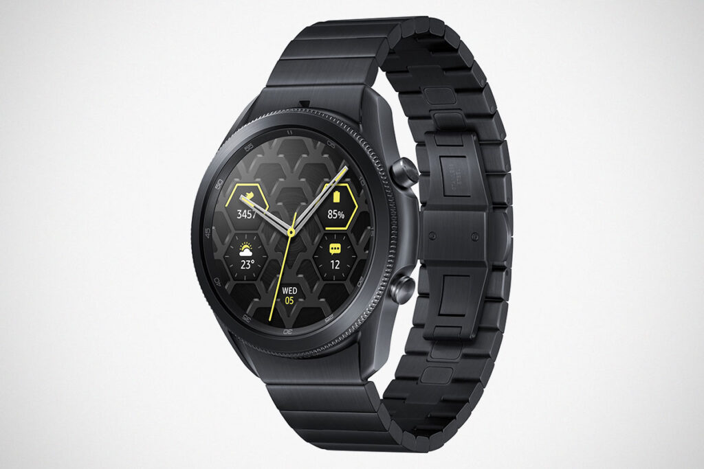 Samsung Galaxy Watch3 Titanium Smartwatch