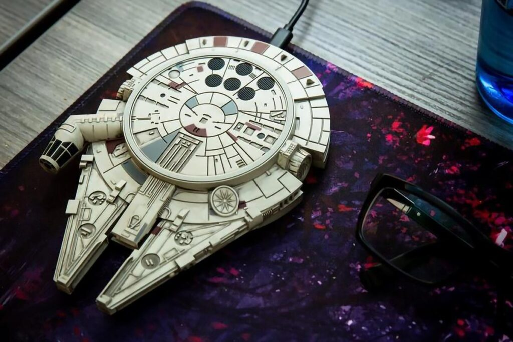 Star Wars Millennium Falcon Wireless Charging Pad