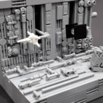 Micro-size LEGO <em>Star Wars</em> Trench Run Kinetic Sculpture Is Mesmerizing To See