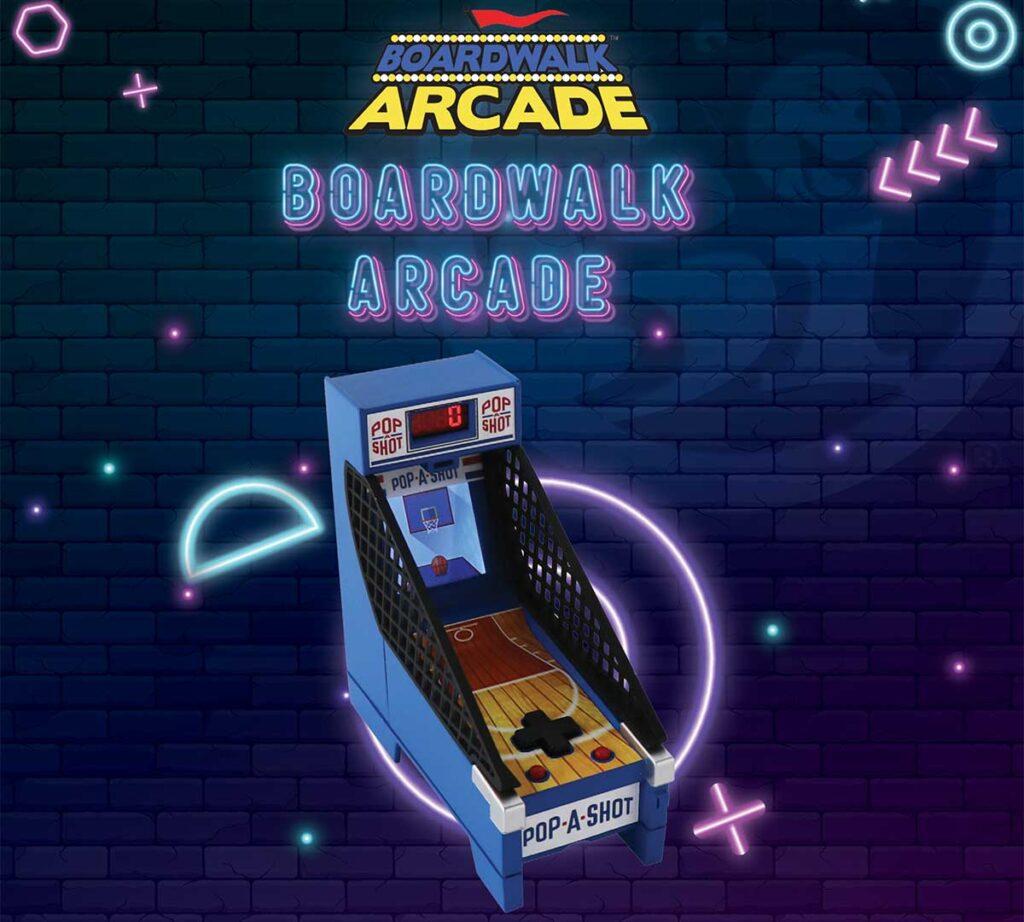 Super Impulse Boardwalk Arcade Pop-A-Shot