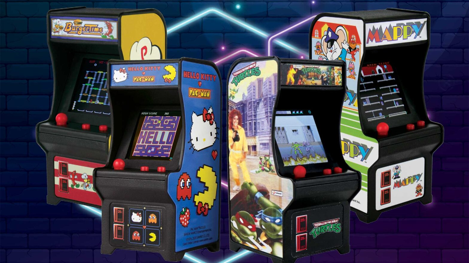 Super Impulse Miniature Classic Arcade Machines