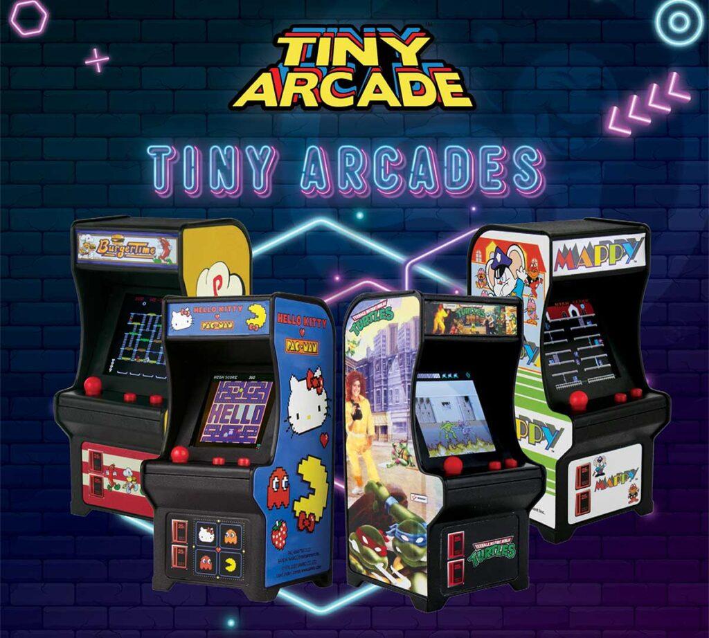 Super Impulse Miniature Classic Arcade Machines