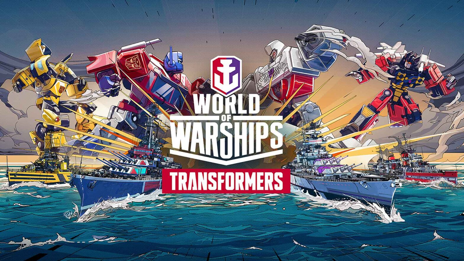 Transformers Joins World of Warships Today
