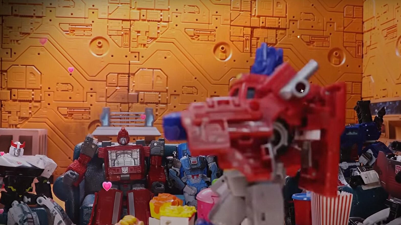 Transformers Netflix Crashing on K Wave Stop Motion