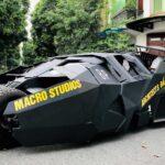 "Vietnamese College Spent US$21,600 To Build His Own Batmobile ""Tumbler"""