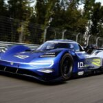 Volkswagen Show Off New Design For The Volkswagen ID.R Electric Race Car
