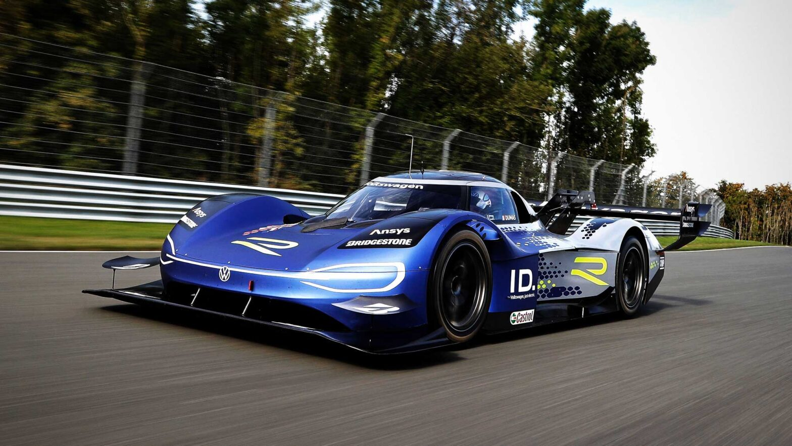 Volkswagen ID.R Electric Race Car New Design