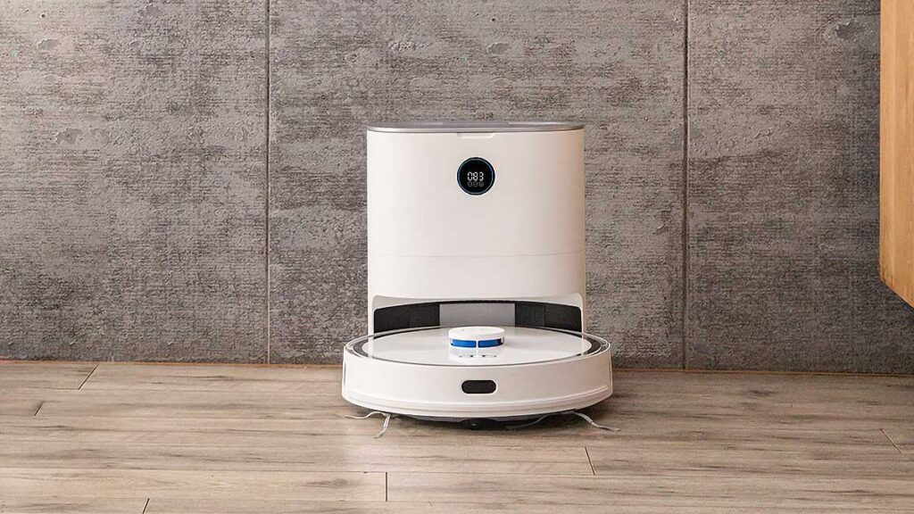 XCLEA Hands-free Dust Collecting Robot Vacuum