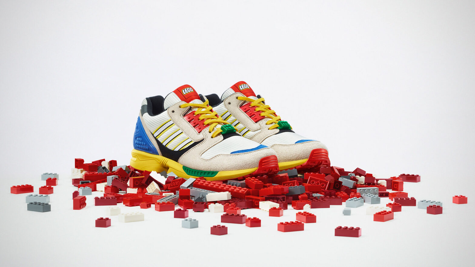adidas Originals ZX 8000 LEGO Sneakers