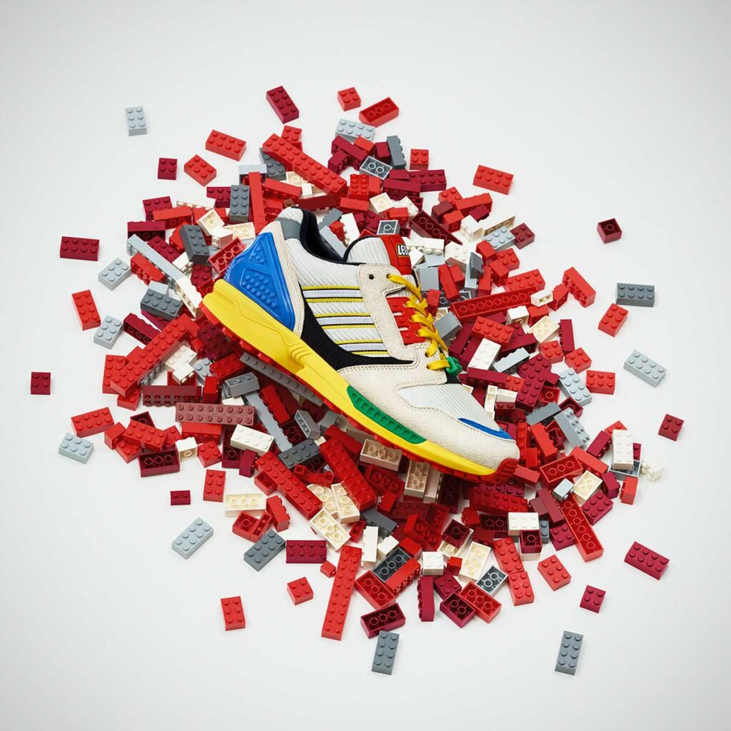 adidas Originals ZX 8000 LEGO Sneakers
