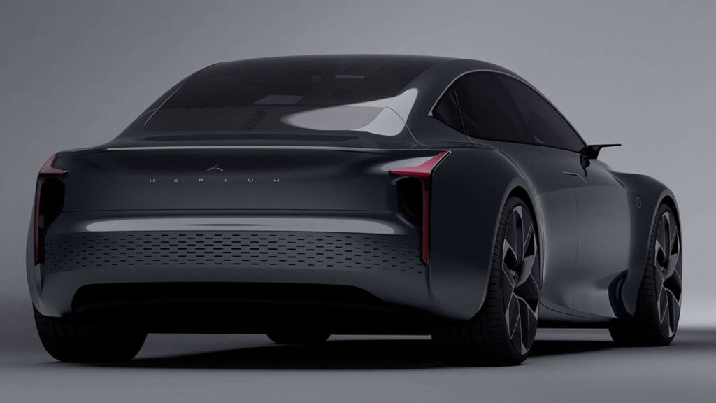 2025 Hopium Māchina Hydrogen Fuel Cell Car