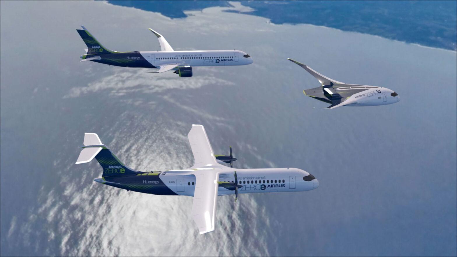 Airbus ZEROe Zero-emission Concept Aircraft