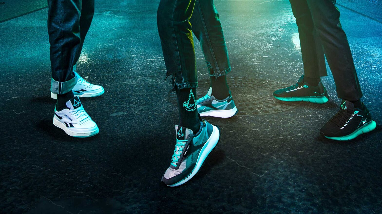 Assassin's Creed Valhalla x Reebok Collection
