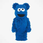BE@RBRICK Cookie Monster Costume Ver. Figure Gets A Coat Of Fur And Googly Eyes