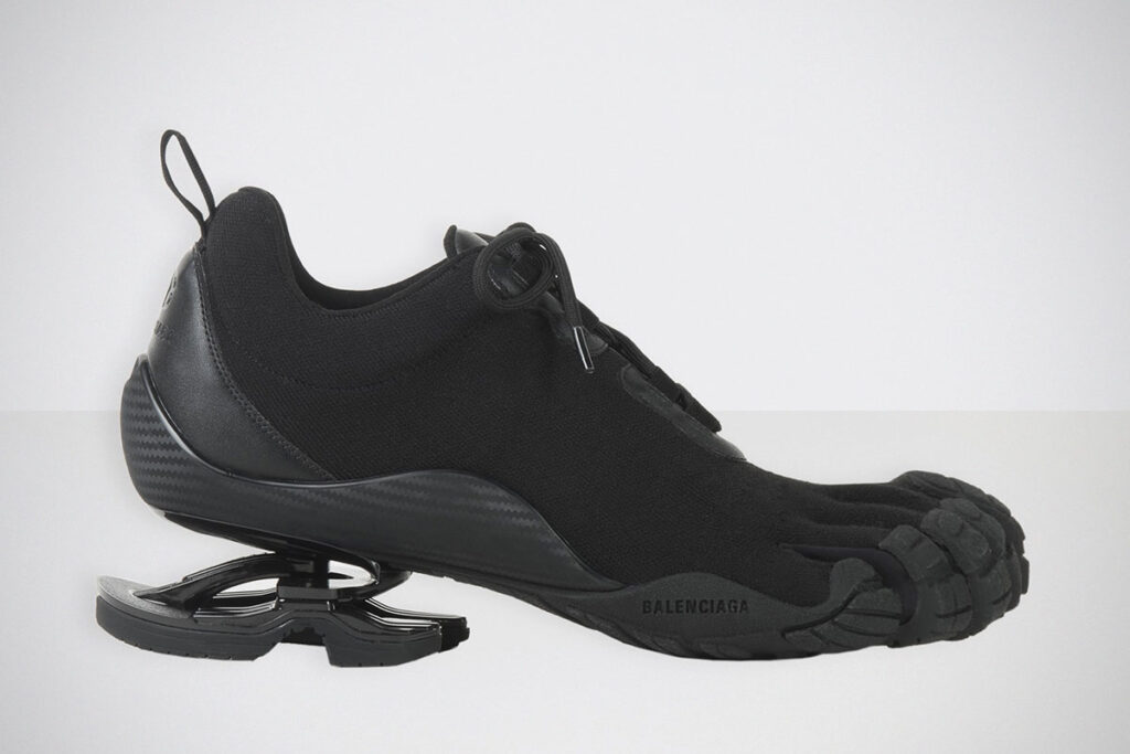 Balenciaga x Vibram Five Toes Footwear