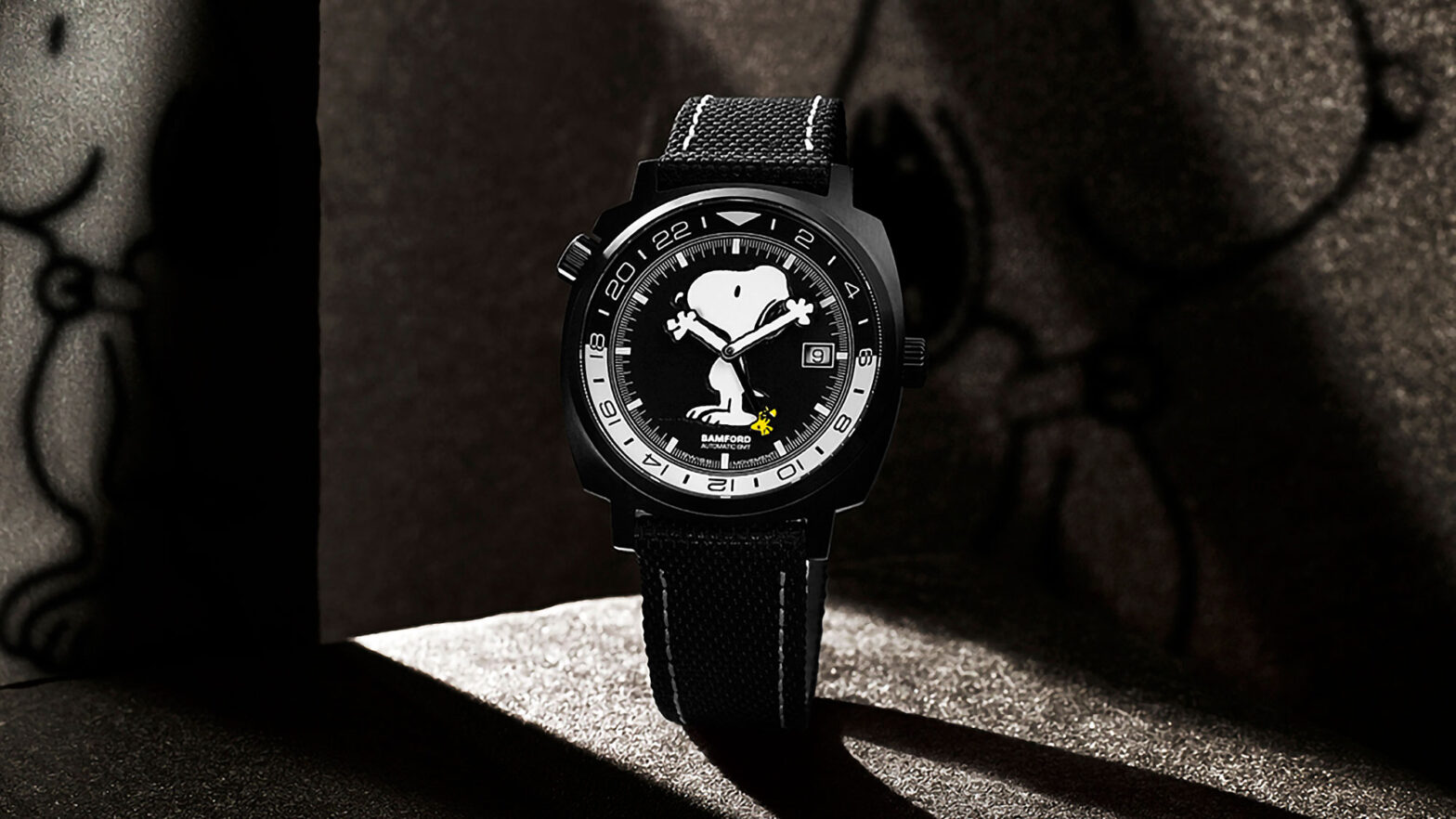 Bamford x Peanuts Bamford GMT Watches