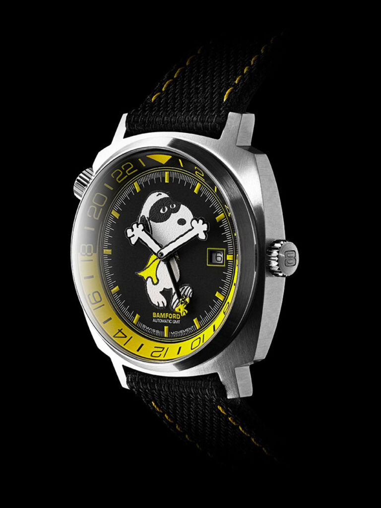 Bamford x Peanuts Bamford GMT Watches