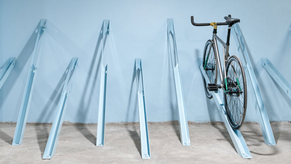 Bici Bicycle Parking Space by Zeller & Moye
