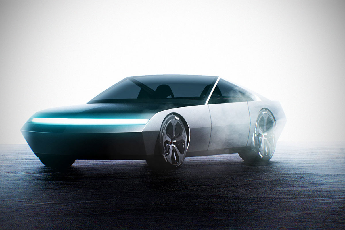 Concept Renders of Tesla Cyber Coupe