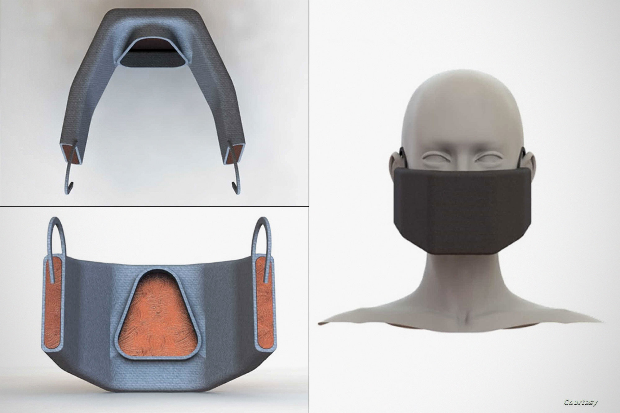 Coronavirus-killing Face Mask by MIT