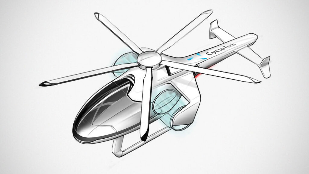 CycloTech Cyclogryro Rotor eVTOL Propulsion System