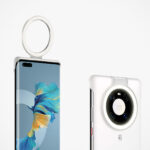 Huawei Mate40 Pro Case Has A Flip-up, Battery-free Selfie Ring Light
