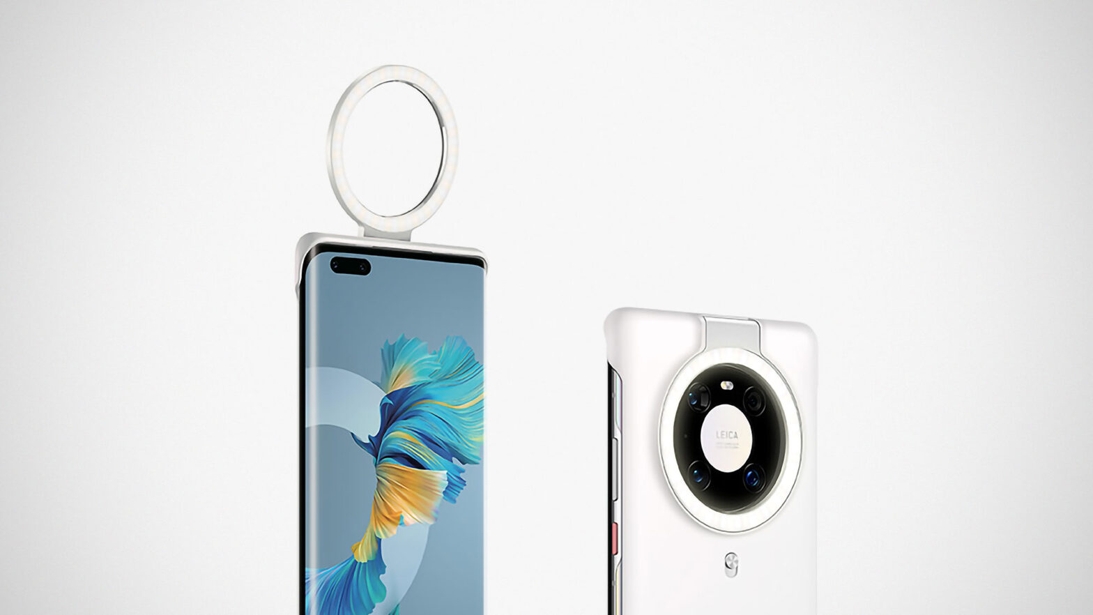 Huawei Mate 40Pro Ring Light Case