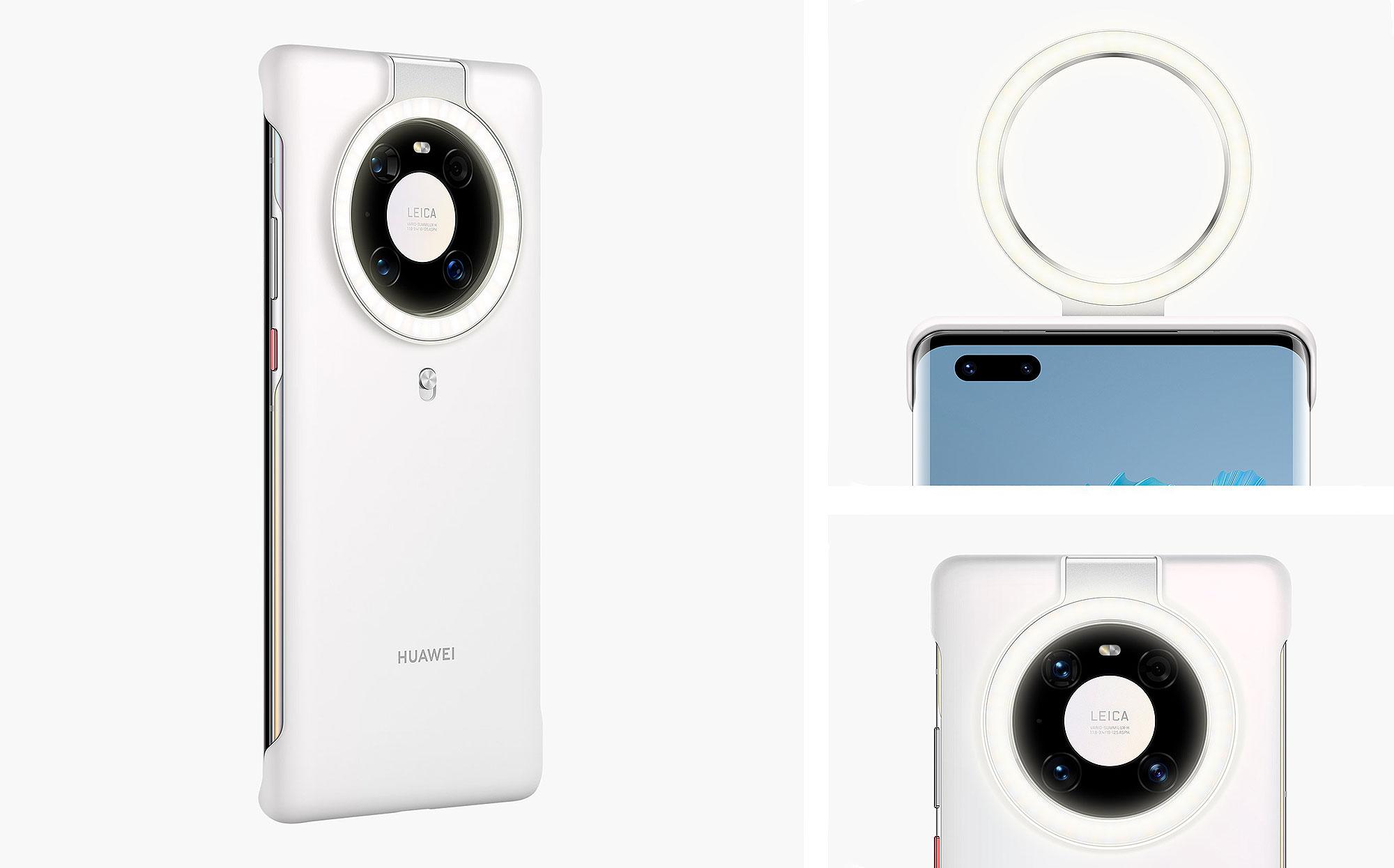 Huawei Mate 40Pro Ring Light Case