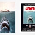 <em>JAWS</em> Lenticular Movie Posters: Iconic <em>JAWS</em> Poster Comes To Life!