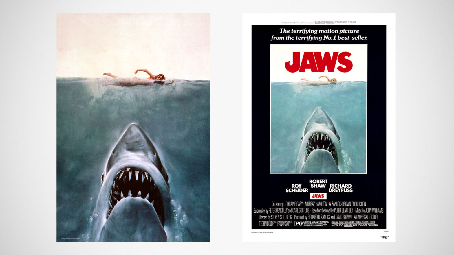 JAWS Lenticular Movie poster and Art Print