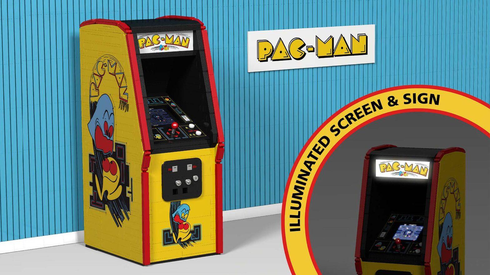 LEGO Ideas Pac-Man Arcade by Jimmi-DK