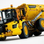 Volvo's Largest Articulated Hauler Immortalized As A LEGO Technic Set