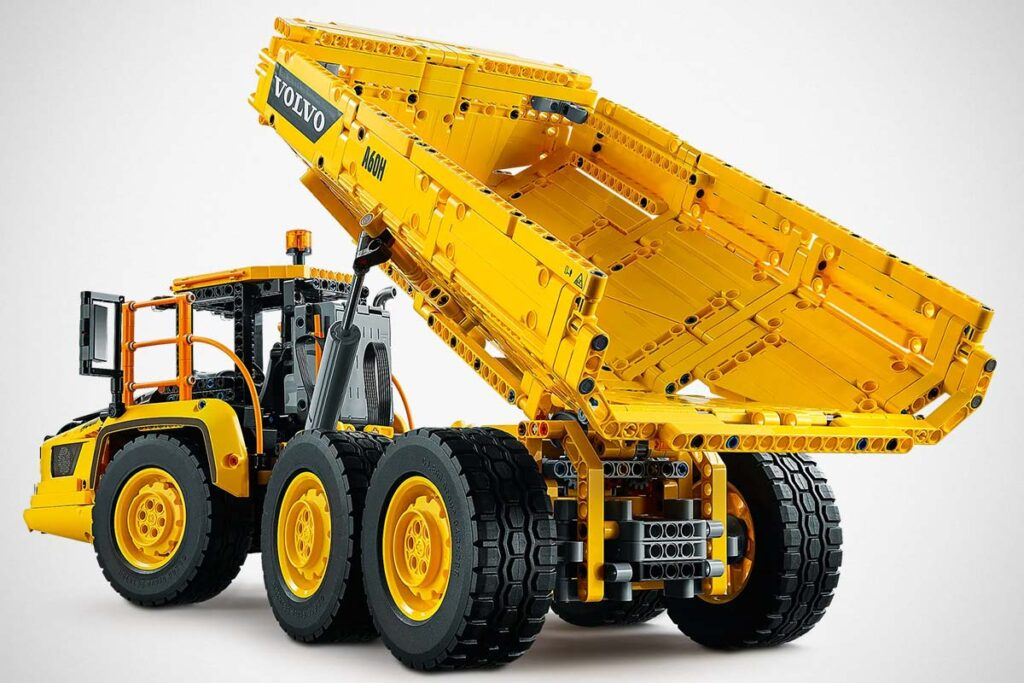 LEGO Technic 42114 5x6 Volvo Articulated Hauler