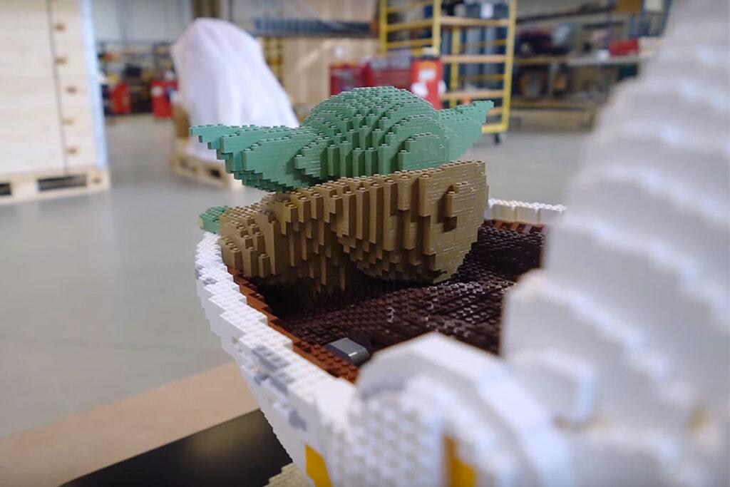 Life-size LEGO Model of The Child