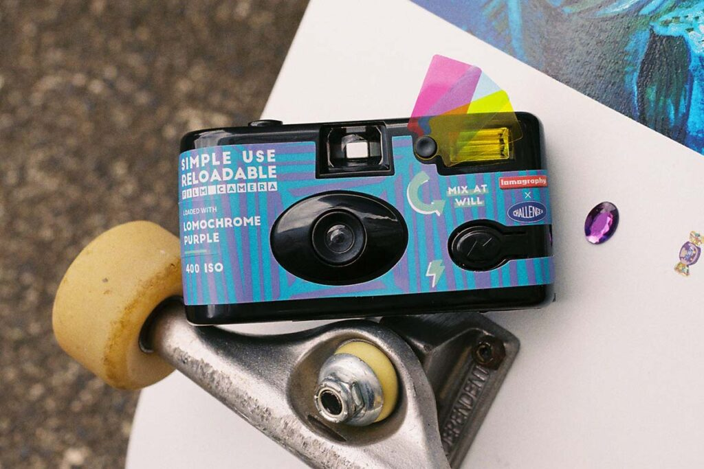 Lomography x Challenger Simple Use Reloadable Camera